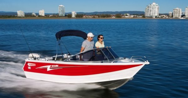 Stacer 489 Seaway + Yamaha 50hp Four Stroke Outboard Motor