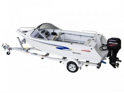Stacer 509 Seaway + Yamaha 60hp Four Stroke Outboard Motor