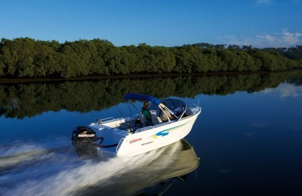 Stacer 449 Bay Master + Yamaha 50hp Four Stroke Outboard Motor