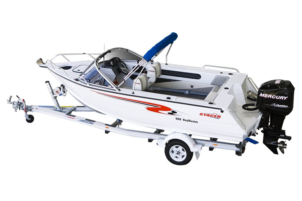 Stacer 509 Bay Master + Yamaha 60hp Four Stroke Outboard Motor