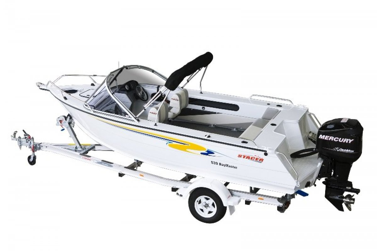 Stacer 539 Bay Master + Yamaha 70hp Four Stroke Outboard Motor
