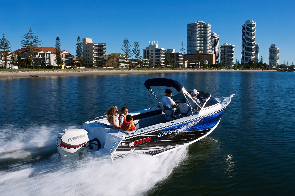 Stacer 579 Bay Master + Yamaha 90hp Four Stroke Outboard Motor