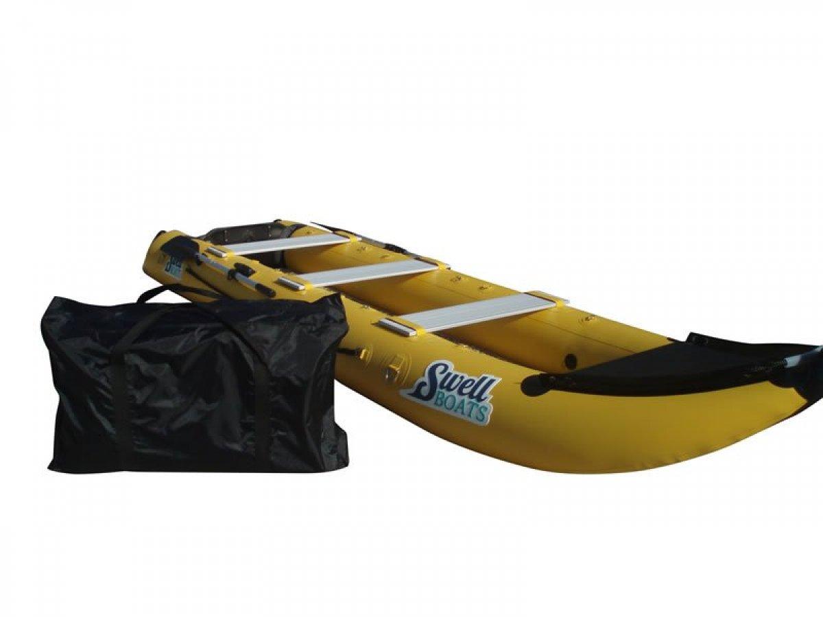 Custom:Swell Boat 4.3m Yellow