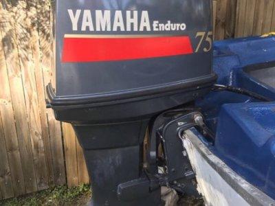 75 Yamaha enduro outboard