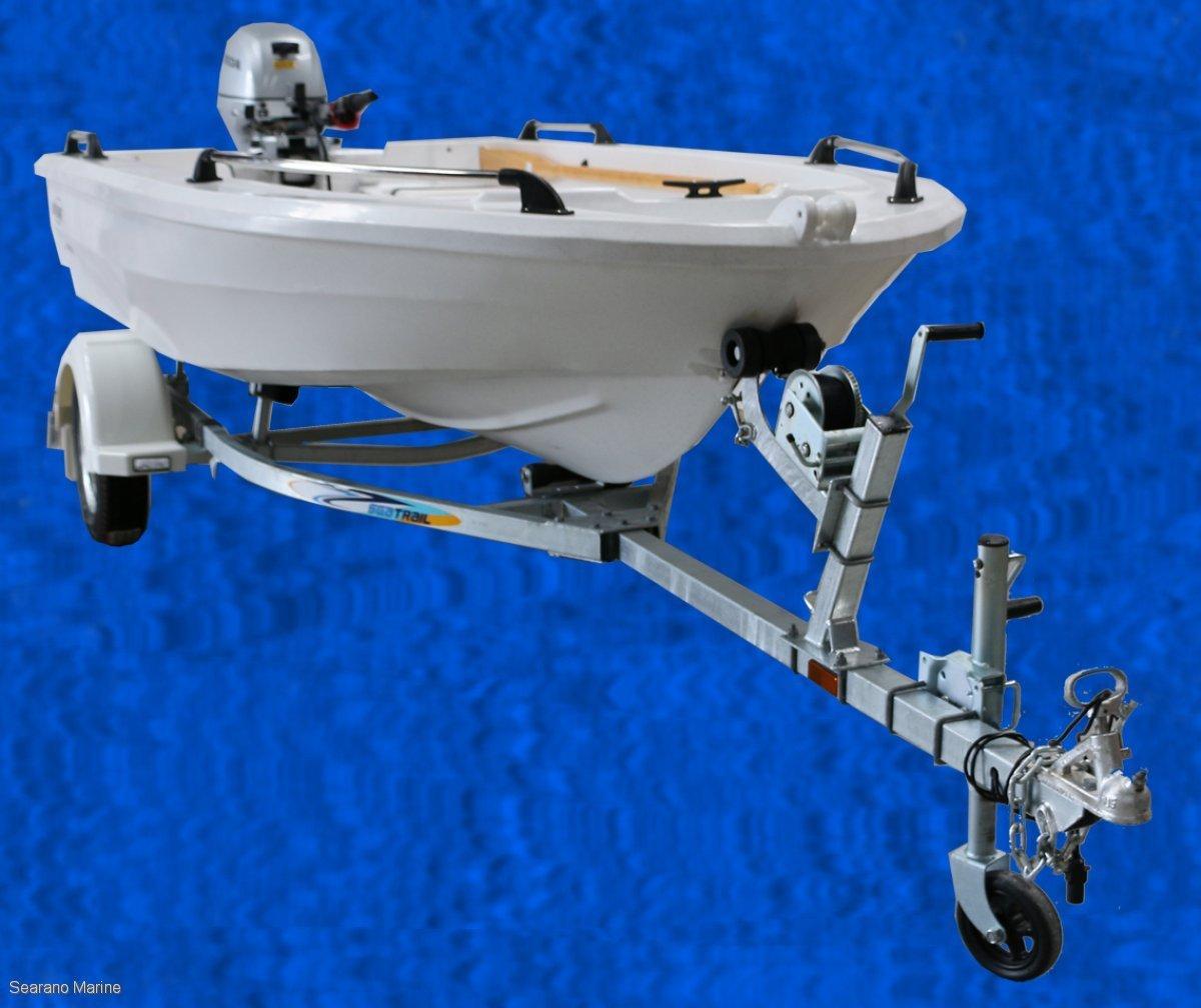 Smartwave Sw4200 NZ Polyethylene Open Boat Or Centre Console Model