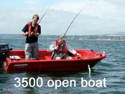 Smartwave Sw 3500 NZ Polyethylene Open Boat Or Centre Console Model