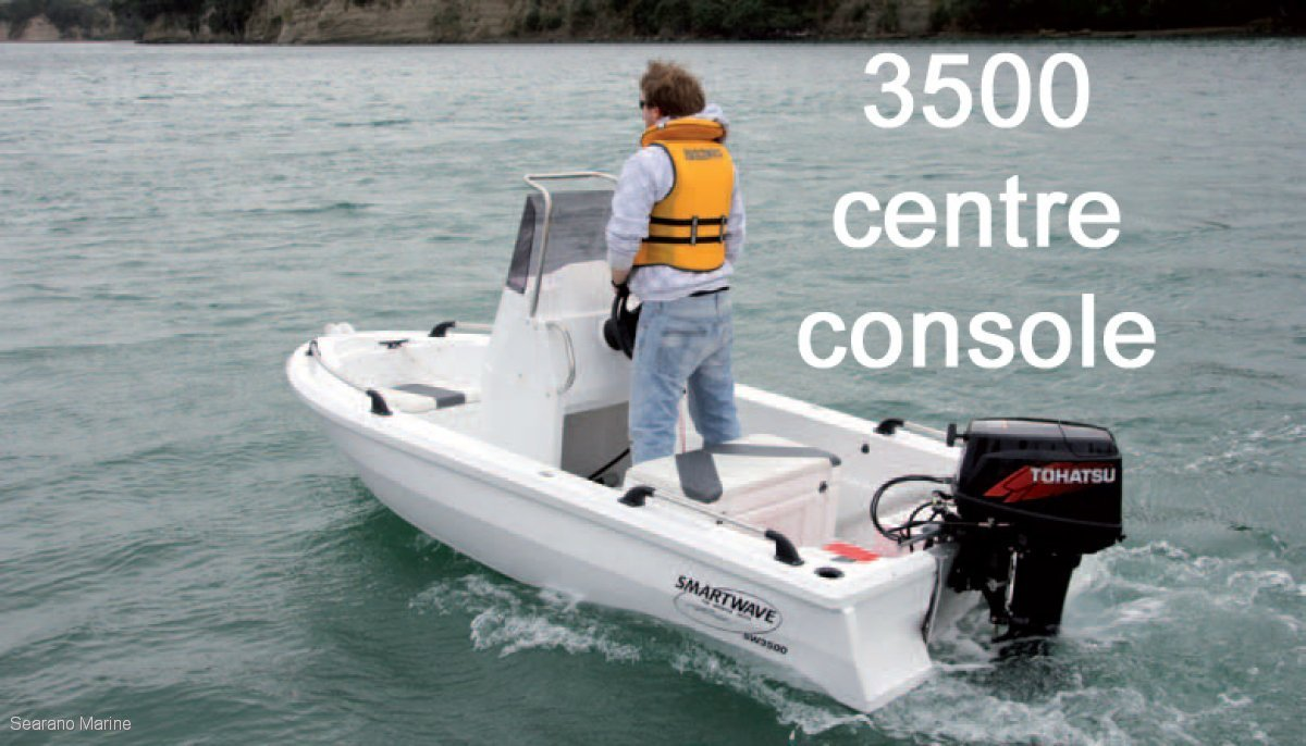 Smartwave Sw 3500 NZ Polyethylene Open Boat Or Centre Console Model