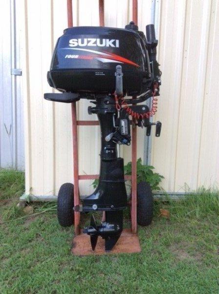 2014 Suzuki 6hp 4 stroke outboard