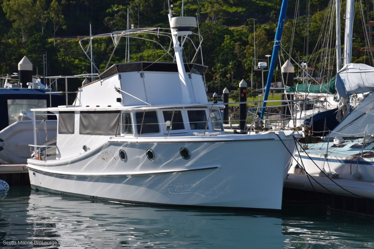 Norman Wright Cruiser 37FT FLYBRIDGE