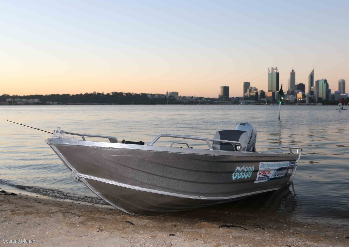 Searano V400 400mm Aluminium Boat. *Hull Only Price*