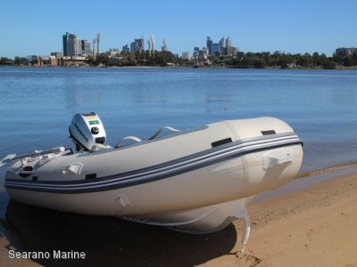 Searano 2.7M PVC Rib With Aluminium Hull