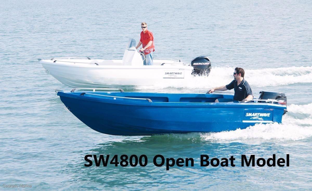 Smartwave Sw 4800 Open Boat/centre Console/off-shore Runabout Models