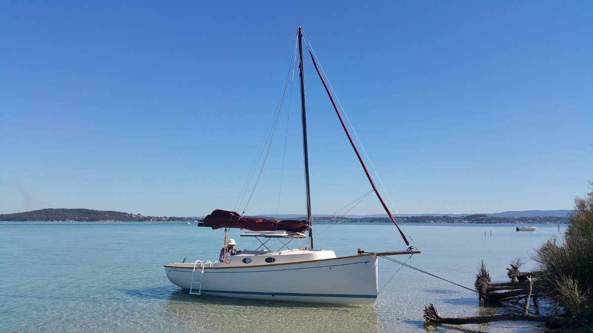 Bluewater Cruising Yachts Cygnet 20 A trailer sailer you will be proud to own!