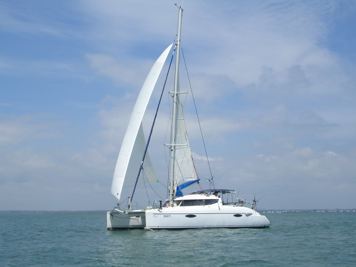 Fountaine Pajot Lavezzi 40 2008 MODEL