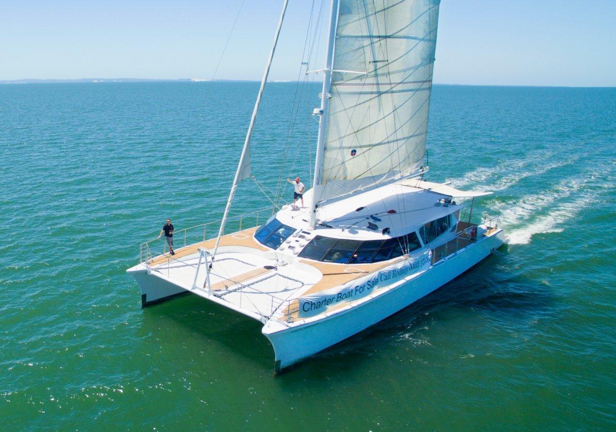 A unique, fast, comfortable designer Catamaran