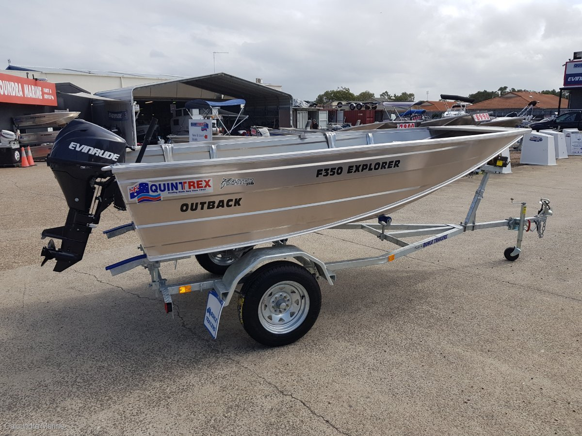Quintrex 350 Explorer Outback