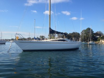 Yamaha 33 sailboat