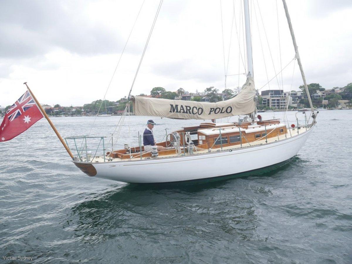 Arthur Robb 35 Sloop Classic Yacht
