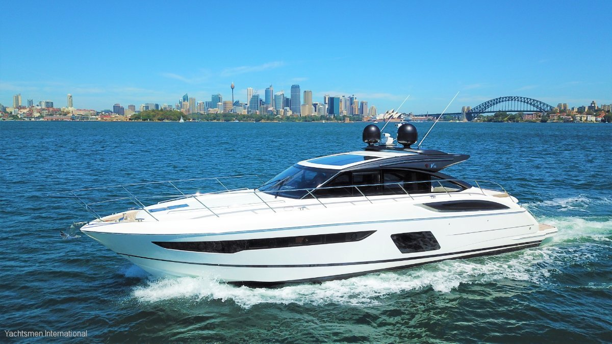 Princess V58 Sports Yacht