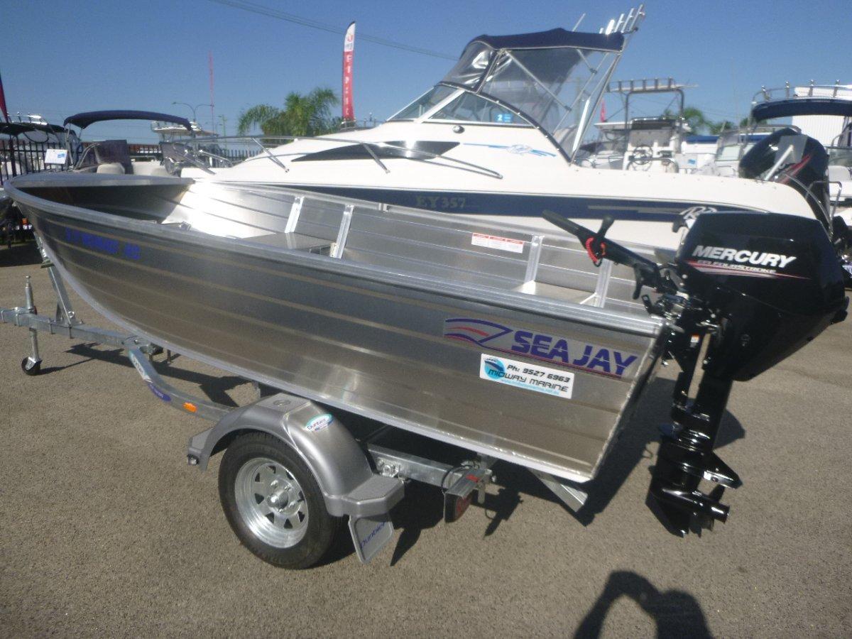 Sea Jay 3.70 Nomad HS v-nose punt