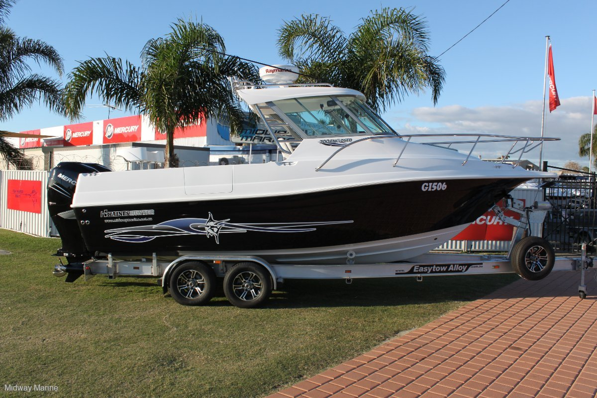 New Haines Hunter 725 Enclosed