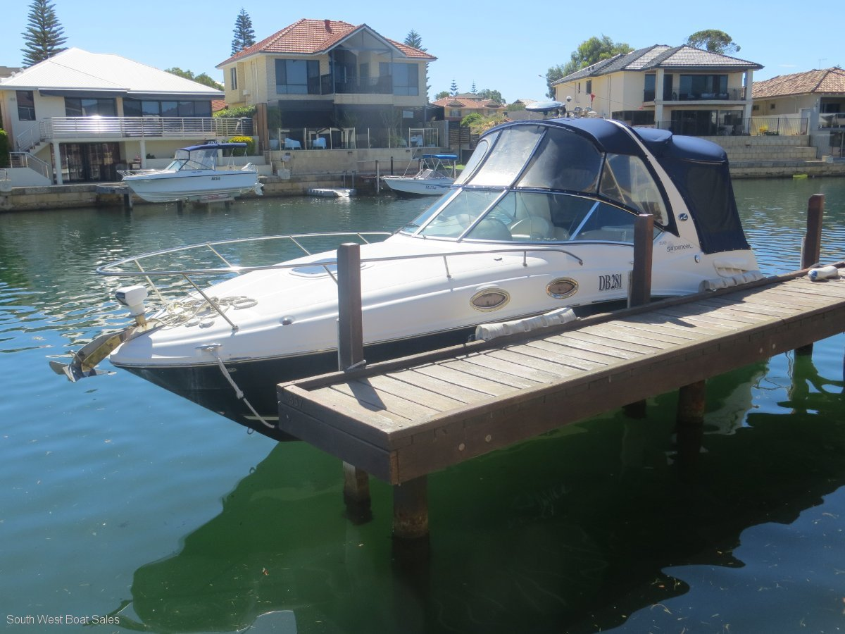 Sea Ray 275 Sport Cabin Cruiser For Sale South West Boat
