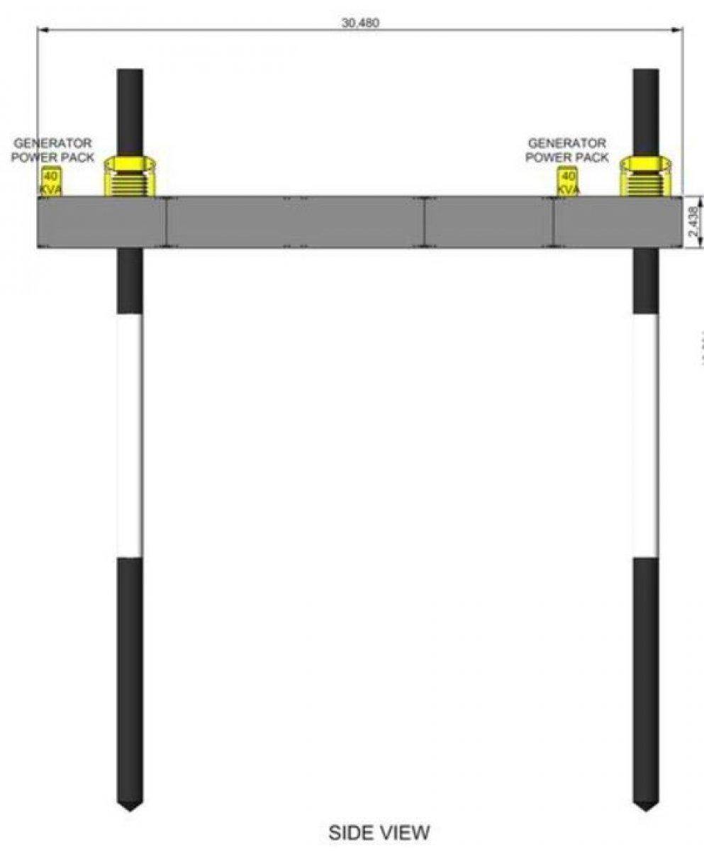 30m Self Elevating Platform