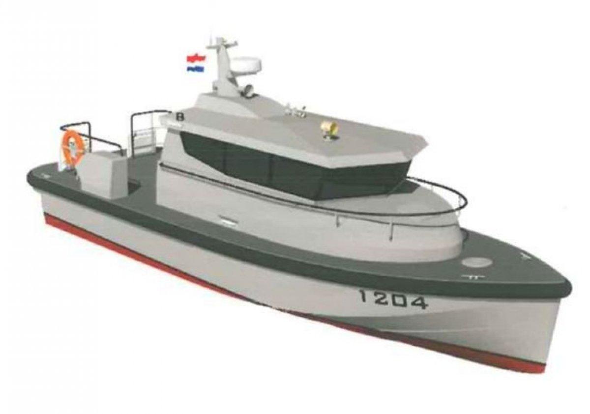 Damen Fast Crew Boat