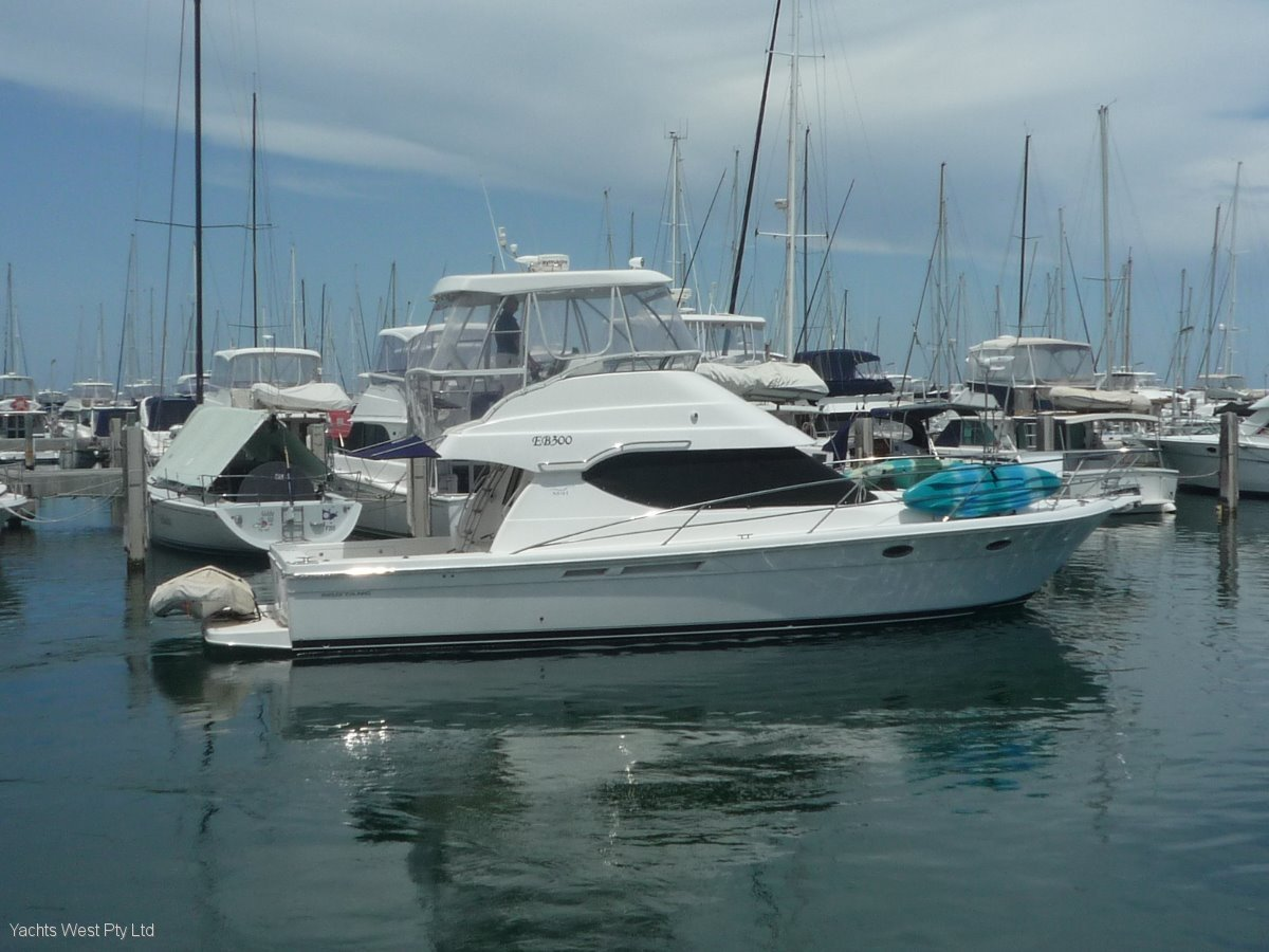 "Mustang M41 Sports Flybridge "" Brand new Clears """