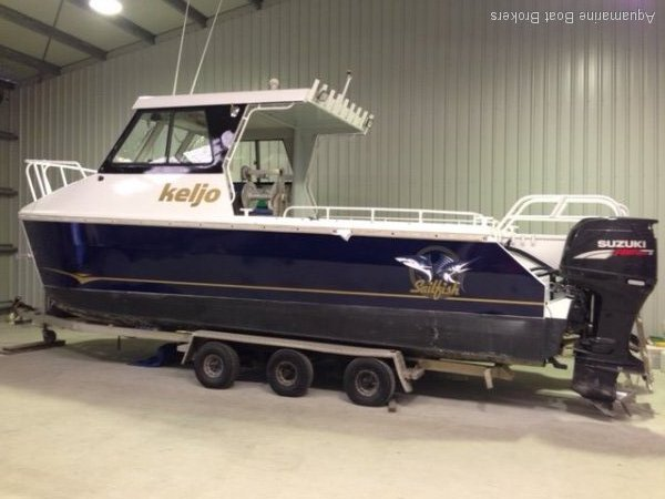 Sailfish Hardtop 2 x 175hp Suzuki 2C + 1E + 3C Survey