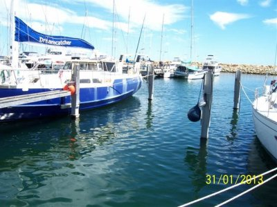 19 METRE EXTRA WIDE MARINA BERTH FREMANTLE SAILING CLUB
