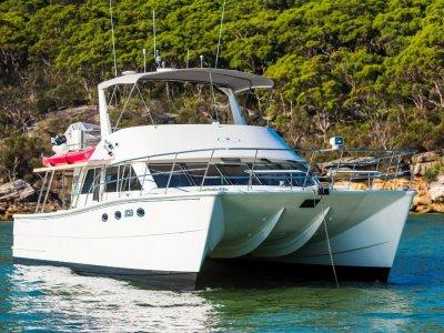Brava 45 Power Catamaran- Click for more info...