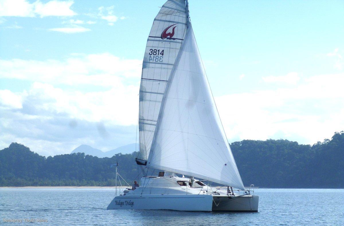 Lightwave 38 Catamaran for Sale, Seaspray Yacht Sales, Langkawi:Lightwave Catamaran for sale in Malaysia