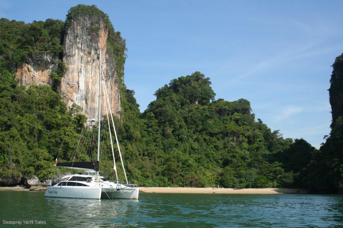 Lightwave 38 Catamaran for Sale, Seaspray Yacht Sales, Langkawi:Ridgee Didge Lightwave 38ft FOR SALE