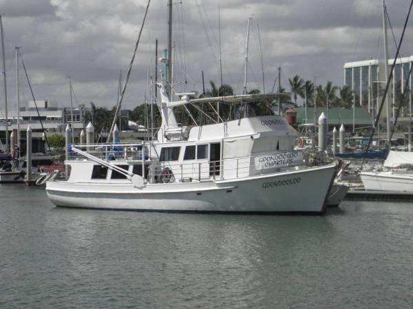 60 Ft Huon Pine Charter Boat