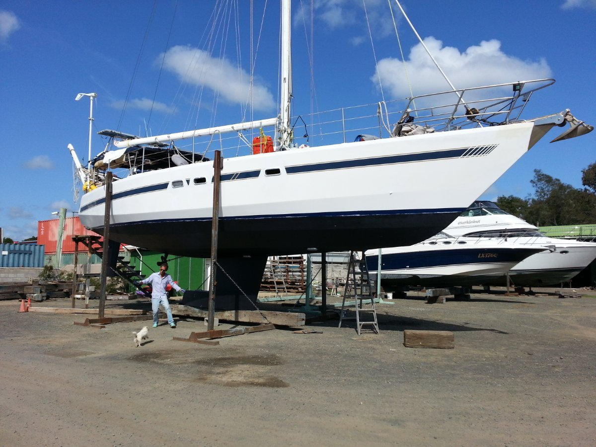 Van De Stadt Samoa 48' Cruising yacht reduced by 100k to sell:Refit end of 2015