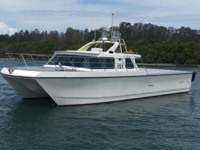 Powercat Lobster/Charter Vessel - PRESENT ALL OFFERS