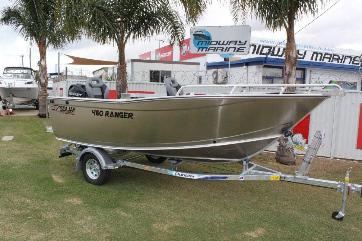 Sea Jay 4.60 Ranger open boat