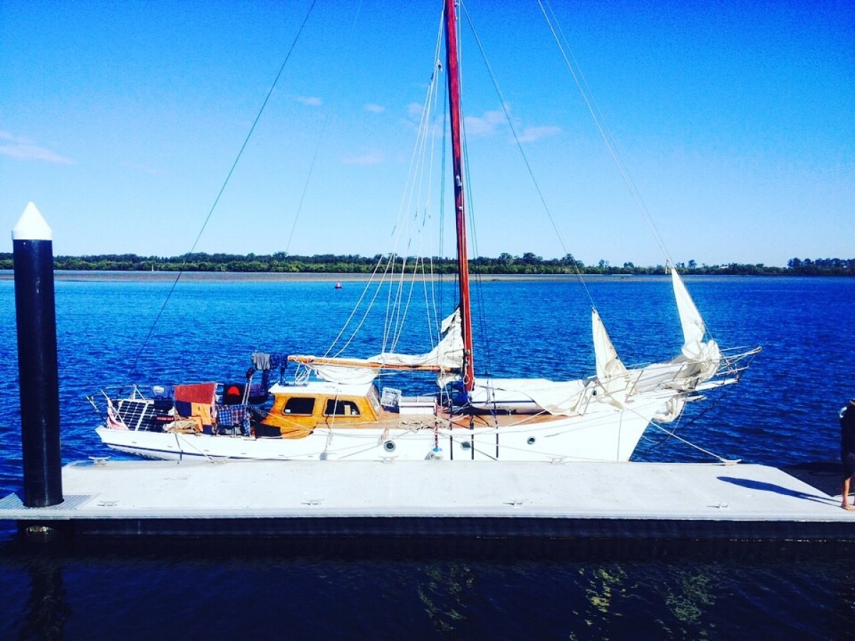Rare 1953 King Billy Pine Timber Yacht