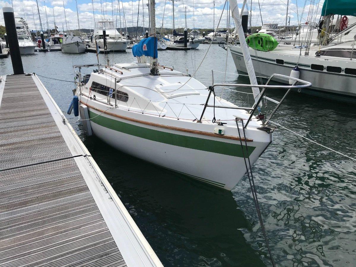 Sonata 7:Marina berthing