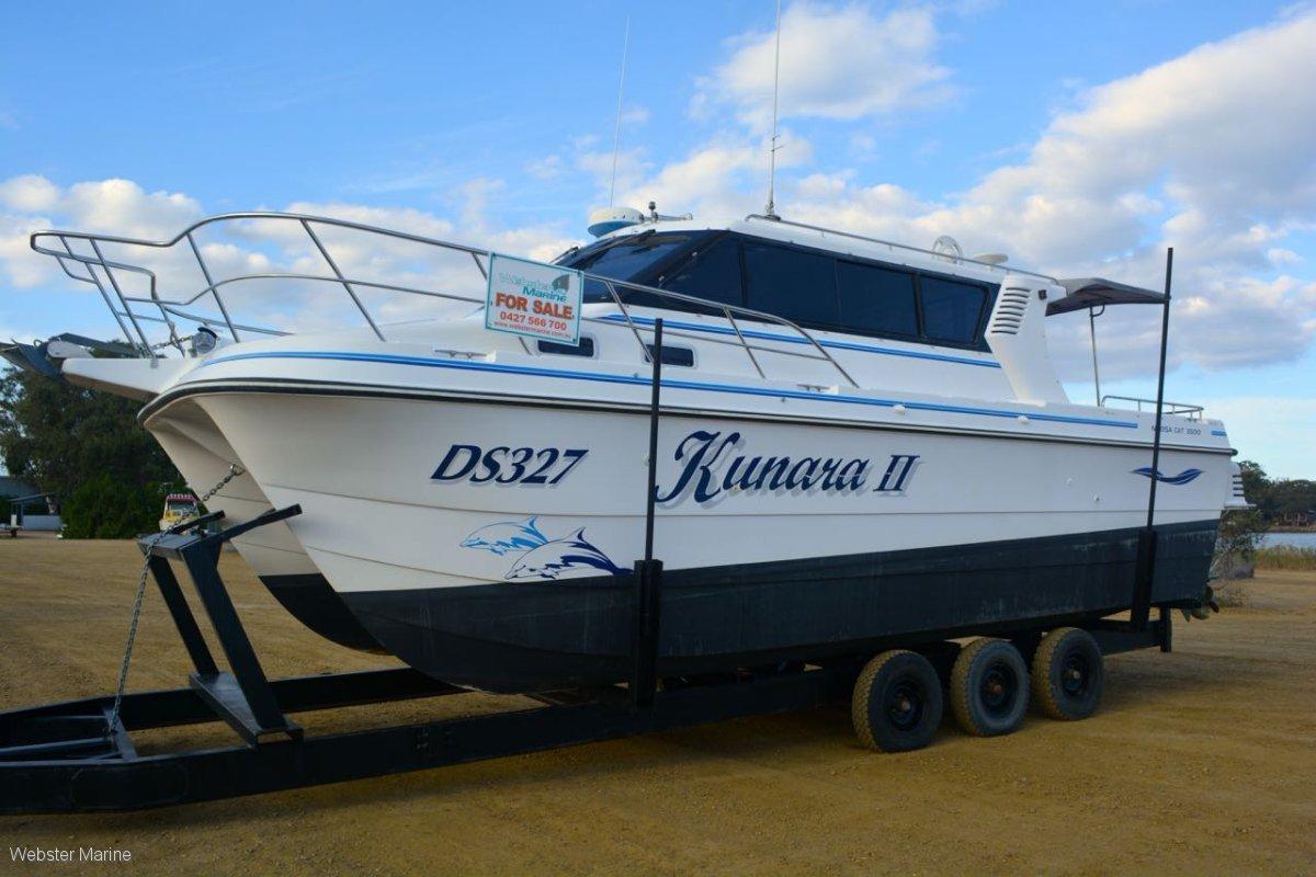 Noosa Cat 3500 Sportscruiser Extended Cabin