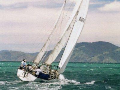 Erwin Haag Steel Offshore Ketch
