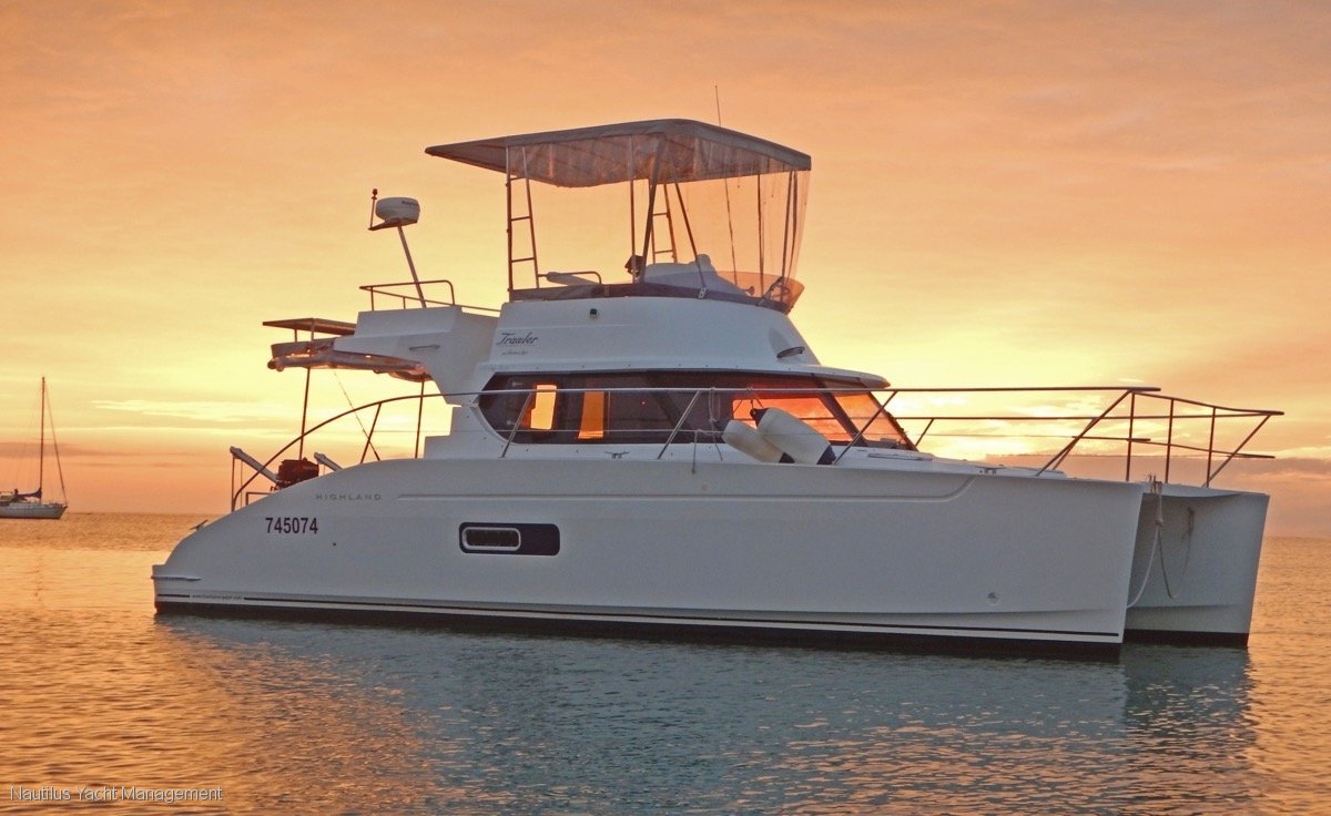 Fountaine Pajot Highland Trawler 35 Immaculate. Would suit near new boat buyer.