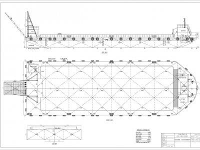 Barge 54m