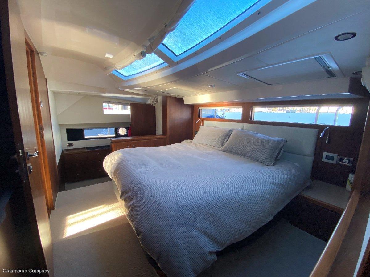 Hudson 48 Enclosed Flybridge Power Catamaran