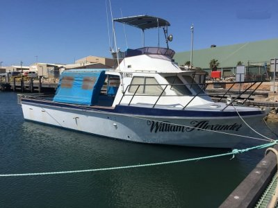 Hartley Flybridge Cruiser 37'