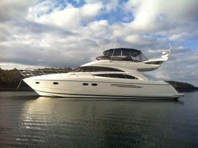 Princess P57 Flybridge MotorYacht SUPERB CONDITION NOW REDUCED