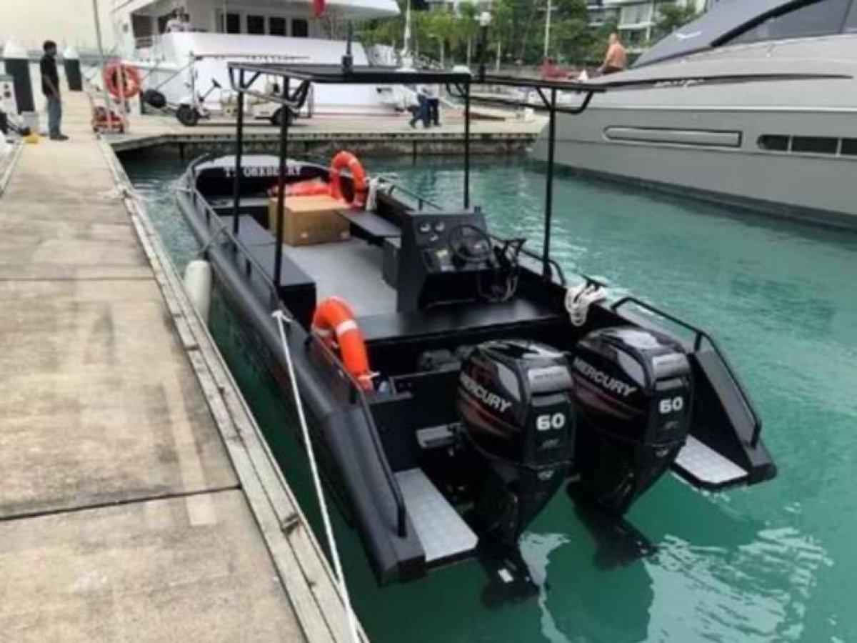 Five AB&E Centurion 24 Surveillance Boat