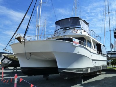 Nustar 45 Power Cat Coastal Cruiser