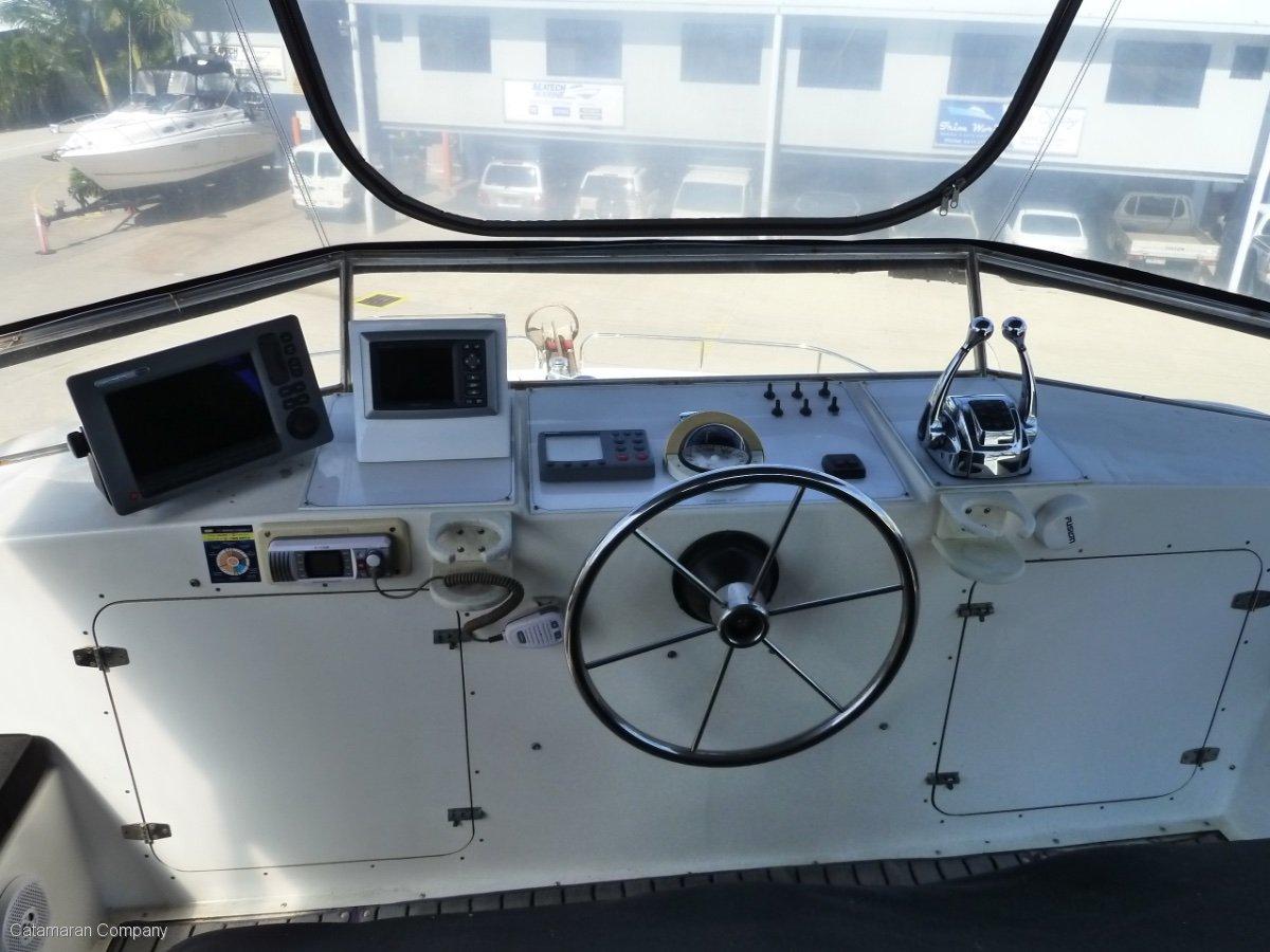 Nustar 45 Power Cat Coastal Cruiser